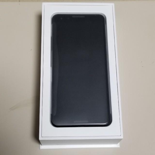 Google Pixel 3 64GB ジャストブラック 新品 スマホ/家電/カメラのスマートフォン/携帯電話(スマートフォン本体)の商品写真