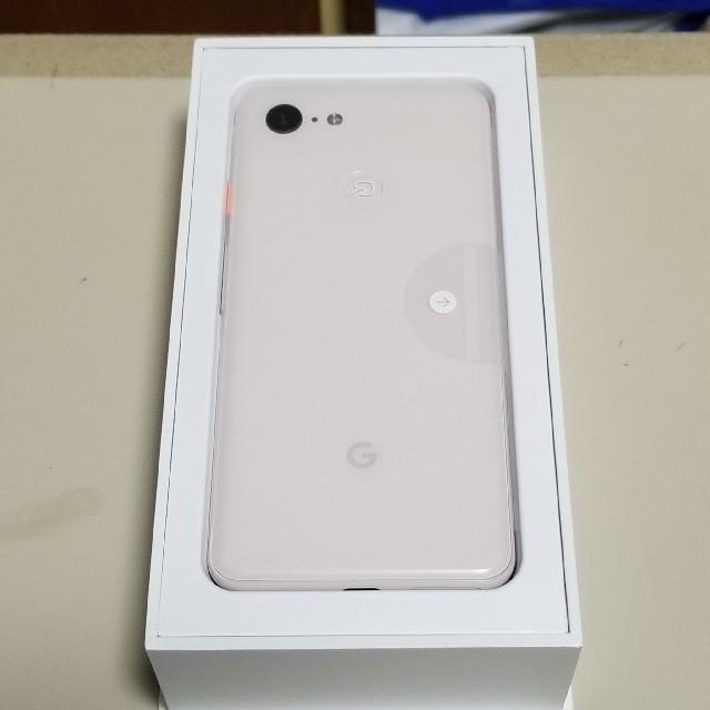 Google Pixel 3 64GB ノットピンク 新品 スマホ/家電/カメラのスマートフォン/携帯電話(スマートフォン本体)の商品写真