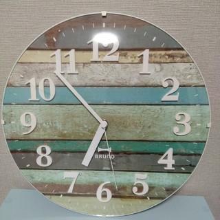 フランフラン(Francfranc)のBRUNO 電波時計(掛時計/柱時計)