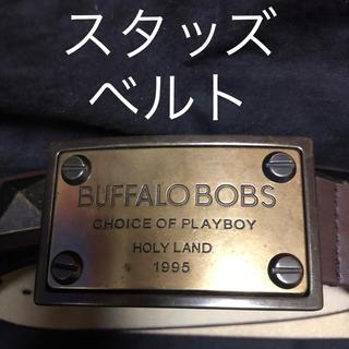 バッファローボブス(BUFFALO BOBS)の【送料込み】バッファローボブズ スタッズ ベルト(ベルト)