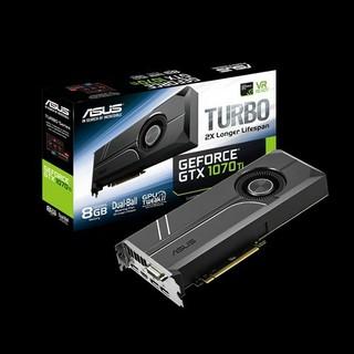 エイスース(ASUS)のグラボ GPU ASUS GEFORCE GTX 1070Ti(PCパーツ)