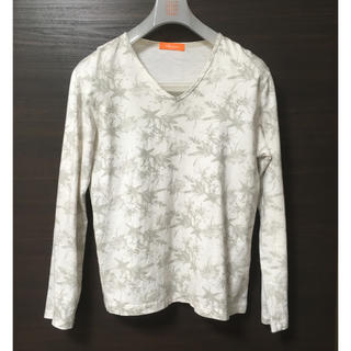 ハイダウェイ(HIDEAWAY)のHIDEAWAYS phenium カットソー 花柄 長袖シャツ(Tシャツ/カットソー(七分/長袖))