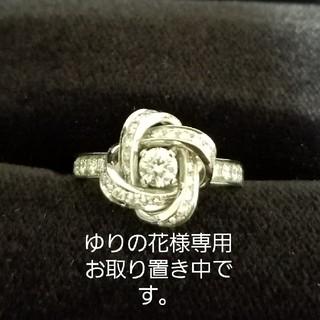 ブシュロン(BOUCHERON)の【ゆりの花様専用商品】ブシュロン ピヴォワンヌ リング 指輪 0.2ct #50(リング(指輪))