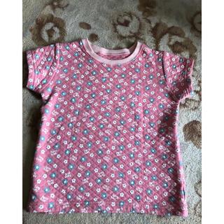 ベルメゾン - 半袖キルトシャツ110