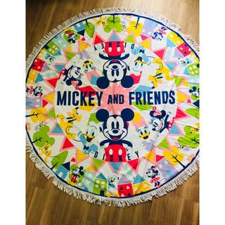 ディズニー(Disney)のミッキー アンド フレンズ ラウンドラグ プレイマット ディズニー ラグ(ラグ)