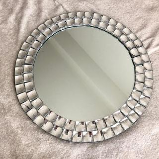 フランフラン(Francfranc)のフランフランFrancfrancストーンミラー丸鏡ドレッサー(ドレッサー/鏡台)