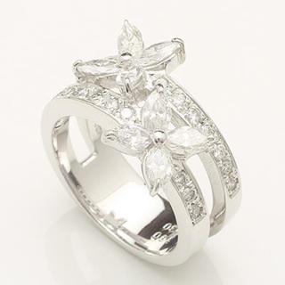 1.3ct マーキスカット ダイヤモンド リング Pt900 プラチナ(リング(指輪))