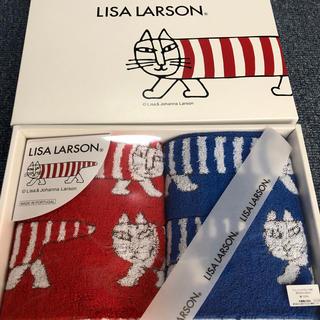 リサラーソン(Lisa Larson)のリサラーソン  ウォッシュタオルセット(タオル/バス用品)