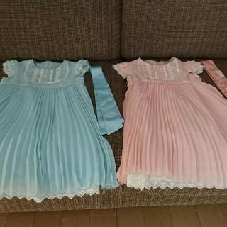 エニィファム(anyFAM)の入学式  anyfamワンピース  双子ちゃん サイズ110(ドレス/フォーマル)