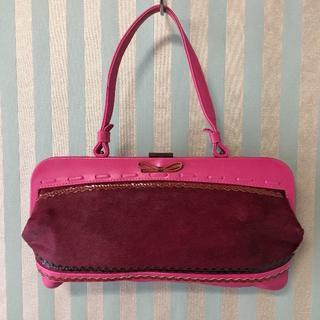 ジャマンピュエッシュ(JAMIN PUECH)のフランス製 JAMIN PUECH ジャマン ピュエッシュ バッグ USED(ハンドバッグ)