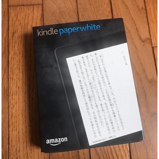 アップル(Apple)の新品 kindle paperwhite(電子ブックリーダー)