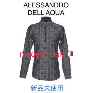 アレッサンドロデラクア(Alessandro Dell'Acqua)の【ALESSANDRO DELL'AQUA】アレッサンドロ デラクア シャツ新品(シャツ)