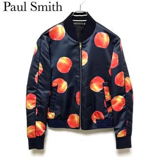 ポールスミス(Paul Smith)のポールスミス   ピーチ ブルゾン ボンバージャケット 16aw(ブルゾン)