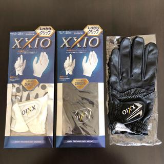 ダンロップ(DUNLOP)のゴルフ手袋 ゼクシオ XXIO 25cm 3枚セット(その他)