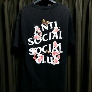 アンチ(ANTI)のASSC 中古 anti social Kkoch Black Tee Tシャツ(Tシャツ/カットソー(半袖/袖なし))