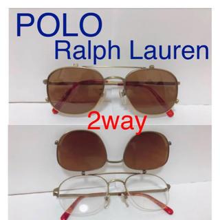 ポロラルフローレン(POLO RALPH LAUREN)のラルフローレン 2wayサングラス(サングラス/メガネ)
