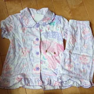 ボンボンリボン(ぼんぼんりぼん)の新品 パジャマ 110cm  ぼんぼんりぼん(パジャマ)