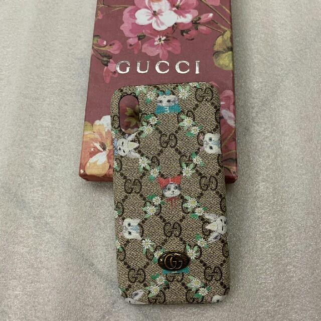 Gucci - Gucci グッチ iPhoneX 携帯電話ケース の通販 by 麗奈レナ    's shop|グッチならラクマ