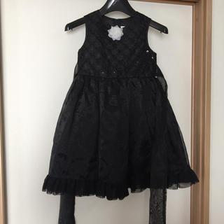 649220a39a186 クレアーズ(claire s)の本日値下げ!Claire s ドレス 黒 120cm(ドレス フォーマル