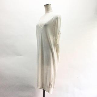 オールセインツ(All Saints)のAll saints sleeveless knit one-piece(ひざ丈ワンピース)