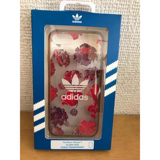アディダス(adidas)のadidas clearcase スマートフォンケース iPhone7(iPhoneケース)