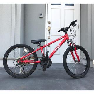 ジオス(GIOS)のマウンテンバイク 男の子 自転車 ジオス GIOS 赤 22インチ(自転車)