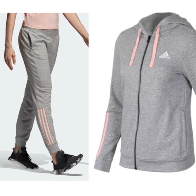 adidas(アディダス)のadidas アディダス ウィメンズ パーカー&パンツ スポーツ/アウトドアのトレーニング/エクササイズ(その他)の商品写真