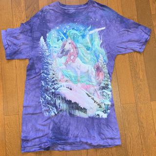ナディア(NADIA)のタイダイ ユニコーン ビックTシャツ(Tシャツ(半袖/袖なし))