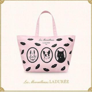 レメルヴェイユーズラデュレ(Les Merveilleuses LADUREE)のラデュレ トートバッグ(トートバッグ)