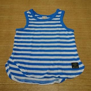 プティマイン(petit main)のプティマイン  ボーダータンクトップ  100(Tシャツ/カットソー)