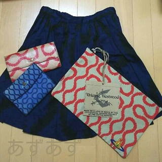 ヴィヴィアンウエストウッド(Vivienne Westwood)の龍様専用 スクイグルセット 新品未使用クラッチバッグ 長財布 ヴィヴィアン(クラッチバッグ)