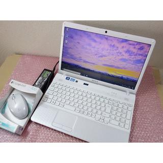 ソニー(SONY)のSONY i5 白 SSD128/8GB MS-office ブルーレイ マウス(ノートPC)