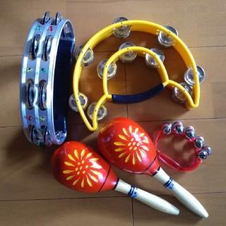 タンバリン マラカス(楽器のおもちゃ)