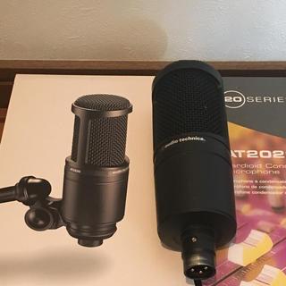 オーディオテクニカ(audio-technica)のsappon様専用(4/15まで以降解除)  オーディオテクニカ AT2020(マイク)