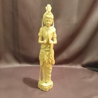 仏像 女人像 木彫(彫刻/オブジェ)