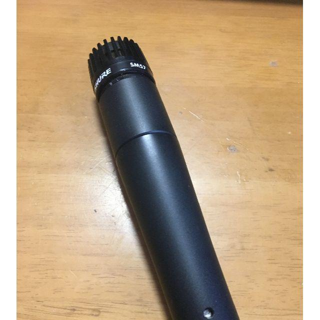 SHURE SM57 ダイナミックマイク 楽器のレコーディング/PA機器(マイク)の商品写真