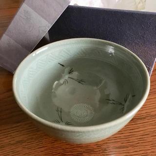 【新品・未使用】青磁雲鶴 ( せいじうんかく ) 京焼 清水焼 (陶芸)