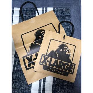 エクストララージ(XLARGE)のX-LARGE 紙袋 大小 2個セット(ショップ袋)