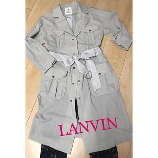 ランバンオンブルー(LANVIN en Bleu)の週末限定でお値下げ! LANVIN   スプリング レイン コート(スプリングコート)
