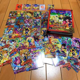 ドラゴンボール(ドラゴンボール)のドラゴンボールヒーローズ  カード入れ+カード64枚+ヒーローライセンス(カード)