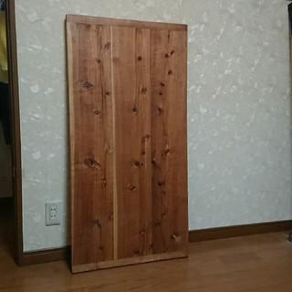足場板のテーブル天板(ダイニングテーブル)