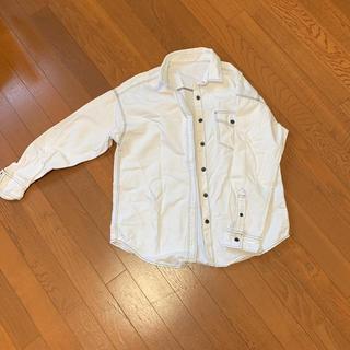 ジーユー(GU)のGU ステッチコットンシャツ(その他)