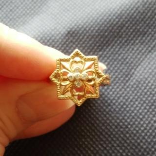 バーニーズニューヨーク(BARNEYS NEW YORK)のバーニーズニューヨーク K18 ダイヤモンド リング(リング(指輪))