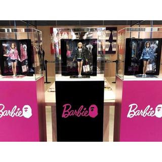 アベイシングエイプ(A BATHING APE)のエイプ バービー人形 BAPE x Barbie Doll 3個セット(キャラクターグッズ)