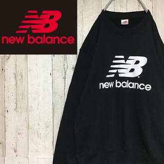 ニューバランス(New Balance)の【ニューバランス】【ビッグロゴ】【モノトーン】【スウェット/トレーナー】(スウェット)