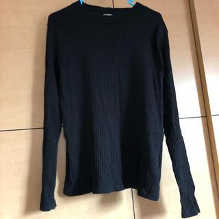 ジーユー(GU)のGU リブTシャツ(Tシャツ(長袖/七分))