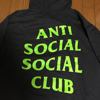 シュプリーム(Supreme)のAnti social social club Mind Games HooD (パーカー)