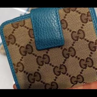 142753c800a4 グッチ ターコイズ 財布(レディース)の通販 21点 | Gucciのレディースを ...
