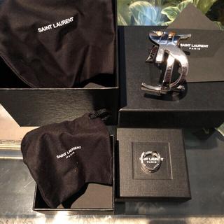サンローラン(Saint Laurent)のsaint laurent ysl モノグラム バングル リング セット売り(リング(指輪))