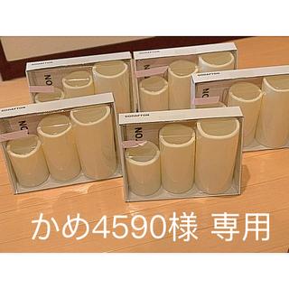 イケア(IKEA)のかめ4590様専用 LED ブロックキャンドル IKEA 3点セット×5 結婚式(その他)